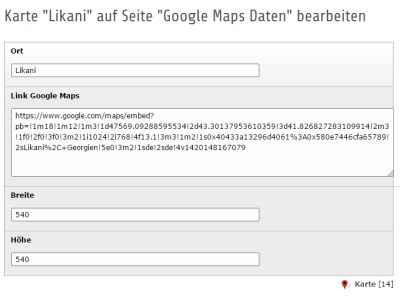 Google Maps Datensatz ✔ TYPO3 Extension ✔ Typoscript ✔ Extbase und Fluid ✔ Plugin Backend Einbindung ✔ HTML Element Datenbank ✔ Flexforms